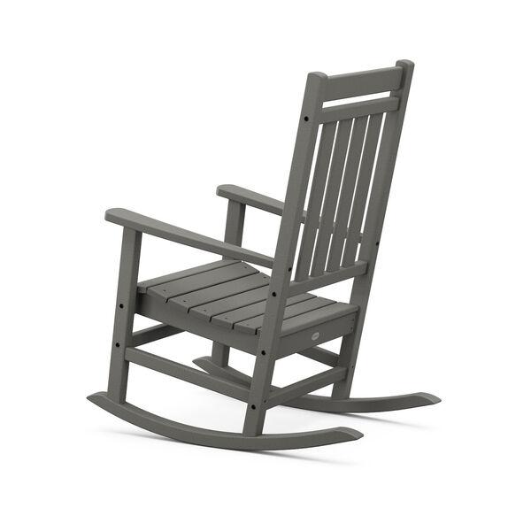 Estate Teak Rocking Chair, image 3