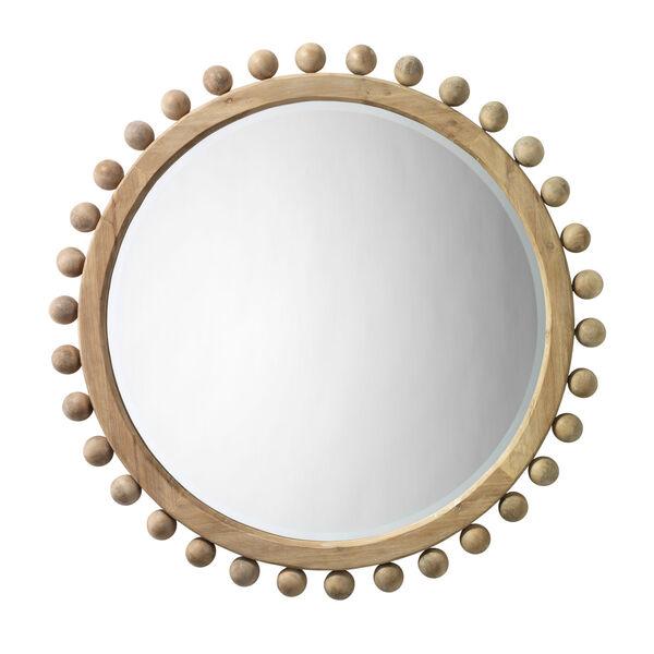 Natural Wood Brighton Mirror, image 1