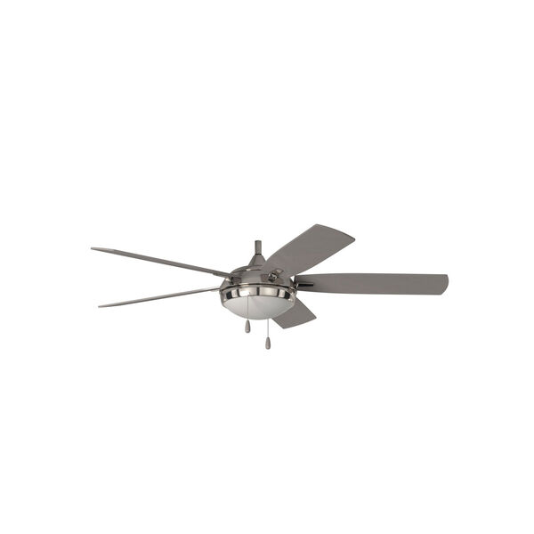 Lun-Aire Brushed Nickel LED Ceiling Fan, image 5