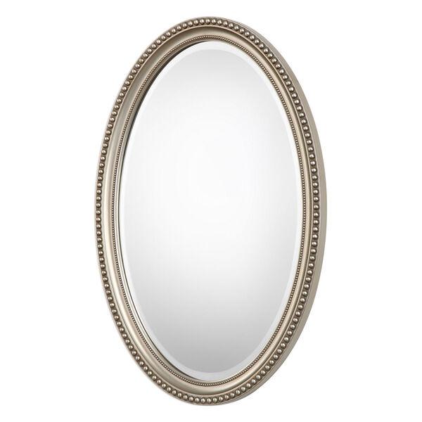 Wellington Silver Oval Mirror, image 3