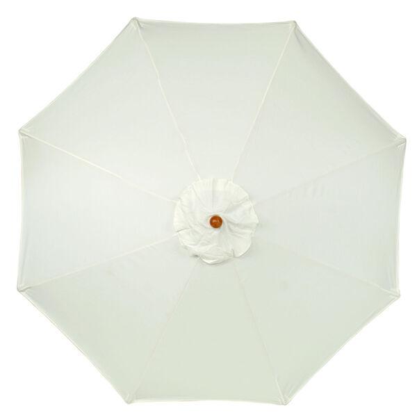 9-Ft. Natural Octagonal Sunbrella Market Umbrella, image 3