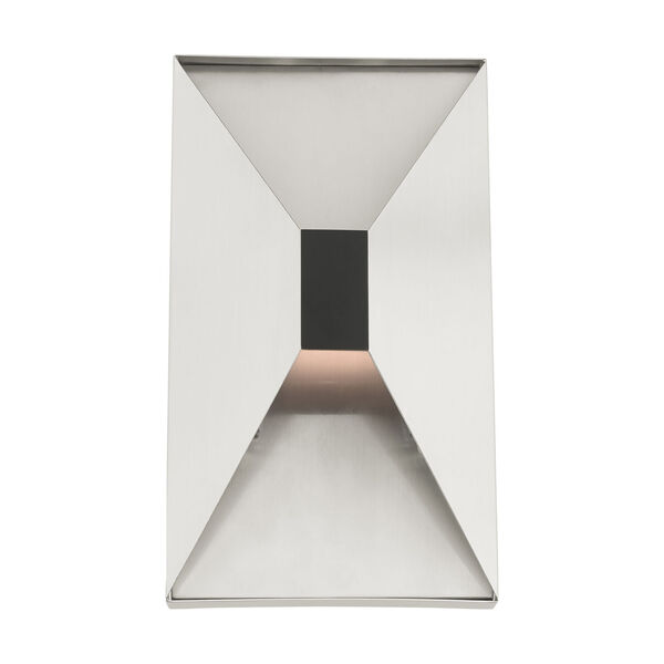 Lexford Brushed Nickel Two-Light ADA Wall Sconce, image 3