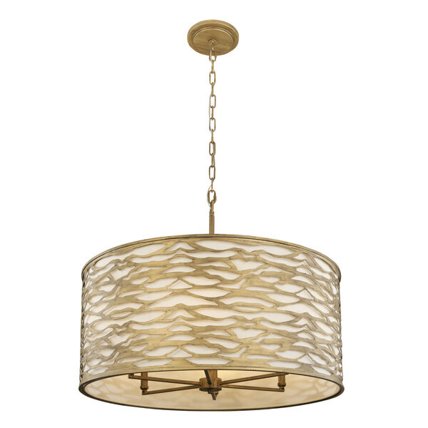 Kato Havana Gold 30-Inch Six-Light Pendant, image 2