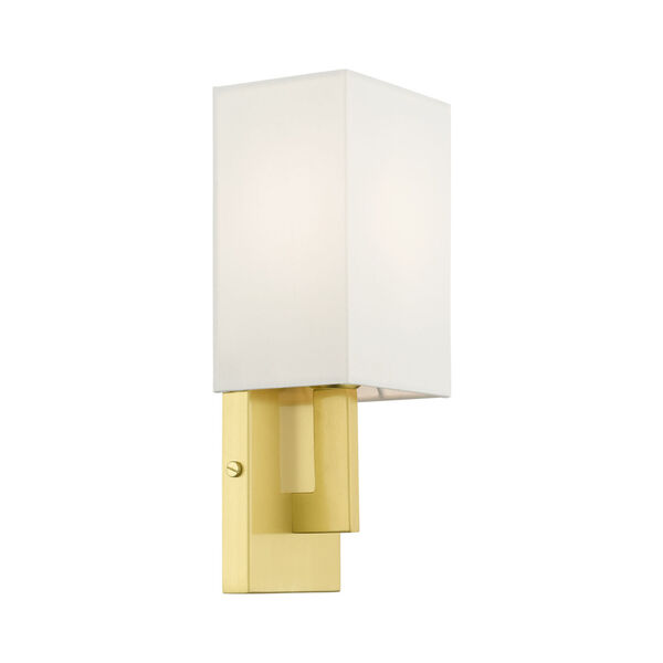 Meridian Satin Brass One-Light ADA Wall Sconce, image 6