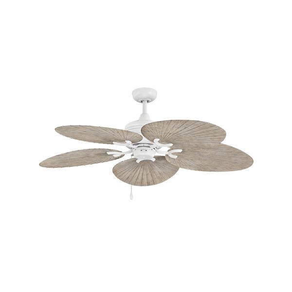 Tropic Air Matte White 52-Inch Ceiling Fan, image 1