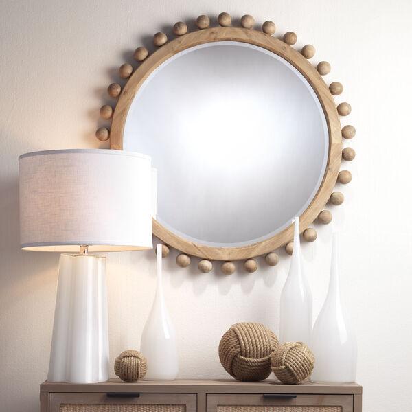 Natural Wood Brighton Mirror, image 3