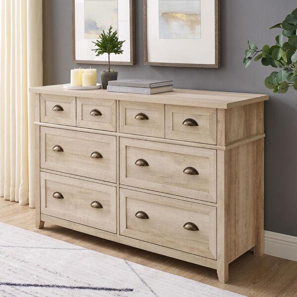 Odette White Oak Dresser, image 1