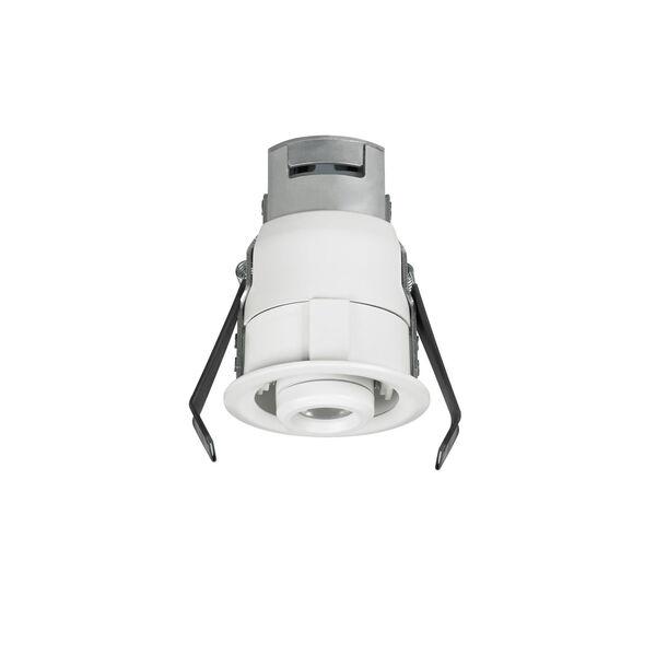 Lucarne White LED Recessed 12V 2700K Gimbal Round Down Light, image 1