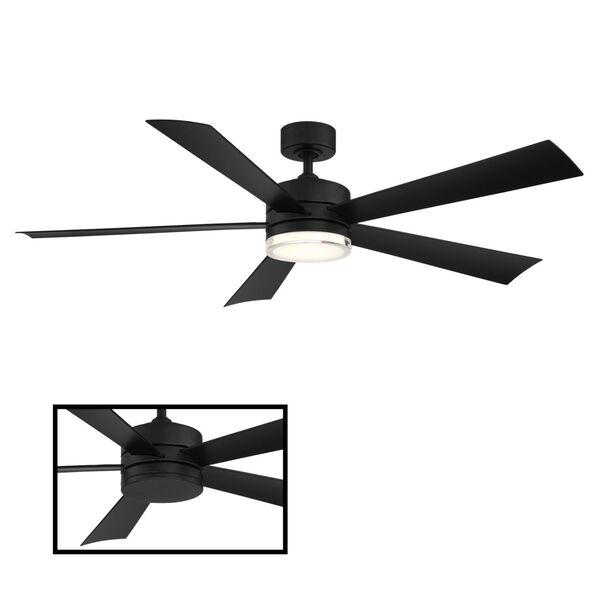 Wynd Matte Black 60-Inch ADA LED Ceiling Fan, image 3