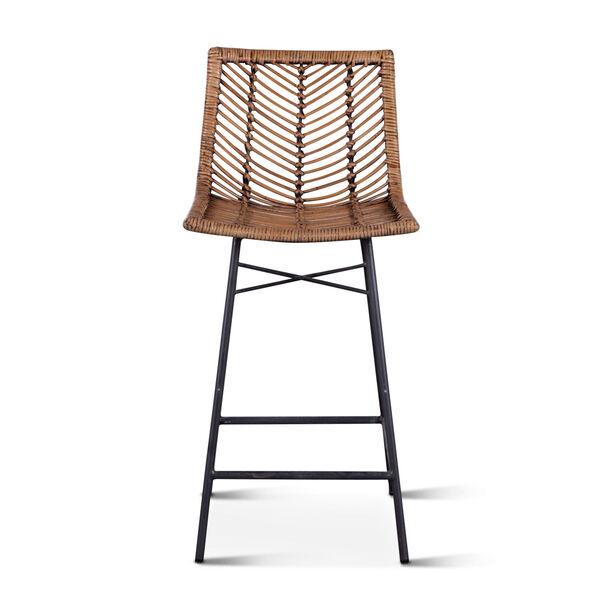 Bali Brown Honey Washed Bar Chair, Set of 2, image 5
