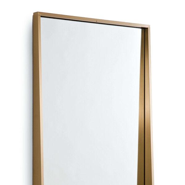 Gunner Brass Wall Mirror, image 2
