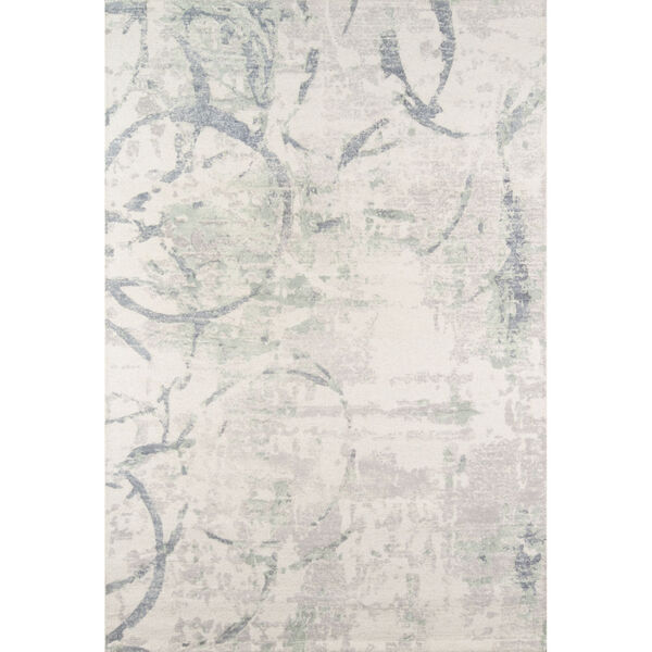 Illusions Gray Rectangular: 7 Ft. 6 In. x 9 Ft. 6 In. Rug, image 1