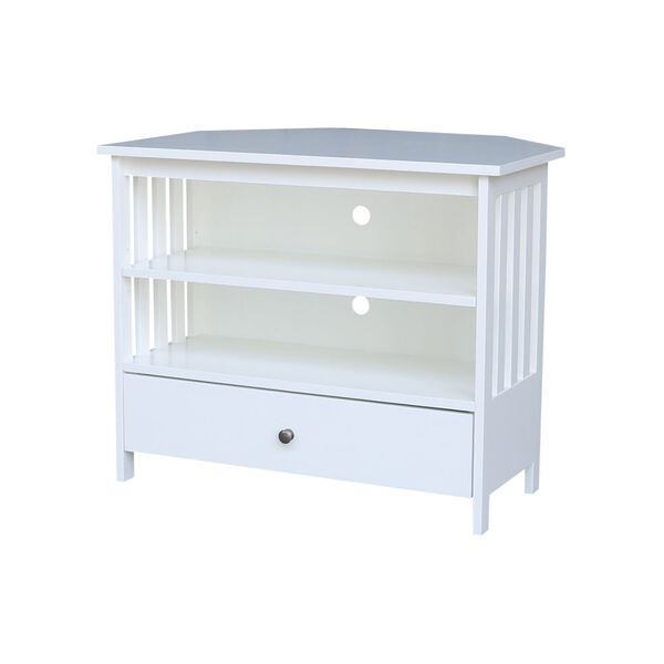 White 35-Inch TV Stand, image 2