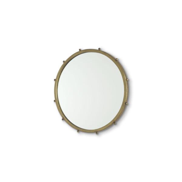 Elena I Gold Wall Mirror, image 1