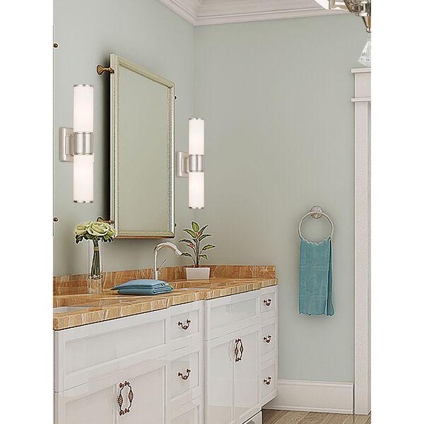 Weston Polished Nickel Two-Light 16.5-Inch Bath Vanity, image 2