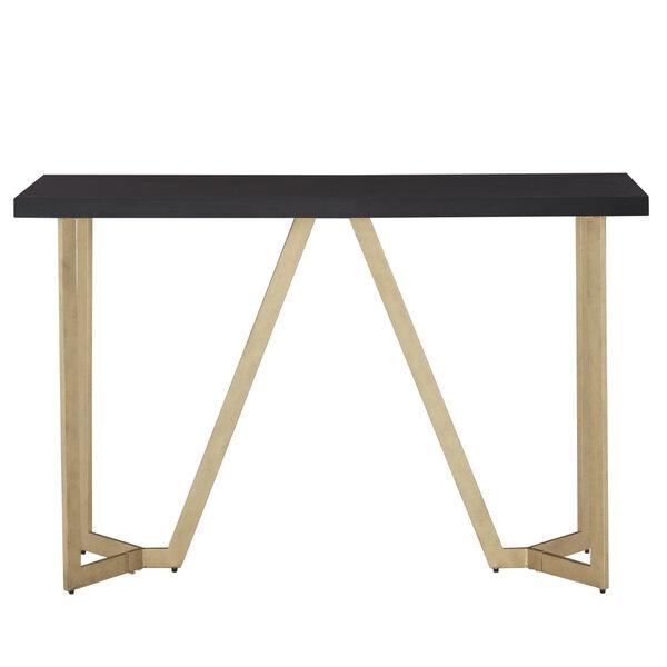Helena Black and Gold Sofa Table, image 2