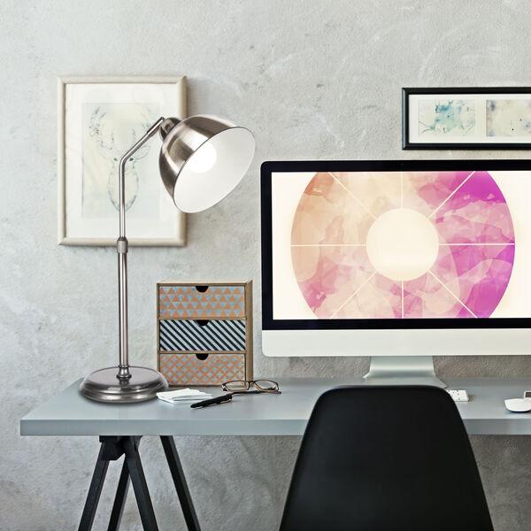 Covington Brushed Nickel LED Desk Lamp, image 4