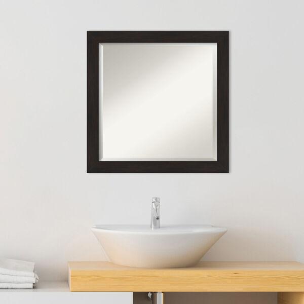 Espresso 24W X 24H-Inch Bathroom Vanity Wall Mirror, image 3