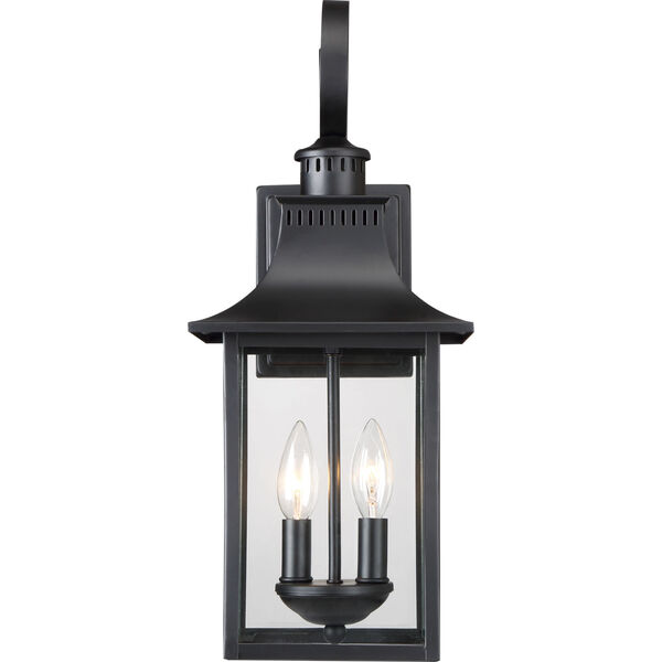 Chancellor Mystic Black Two-Light Outdoor Wall Sconce, image 3