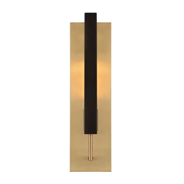 Chicago PM Old Satin Brass One-Light Wall Sconce, image 2