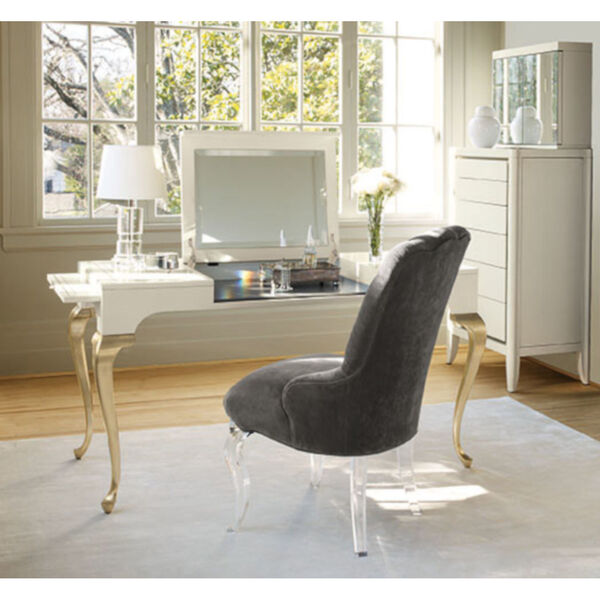 Caracole Classic White with Gold Vanity, image 4