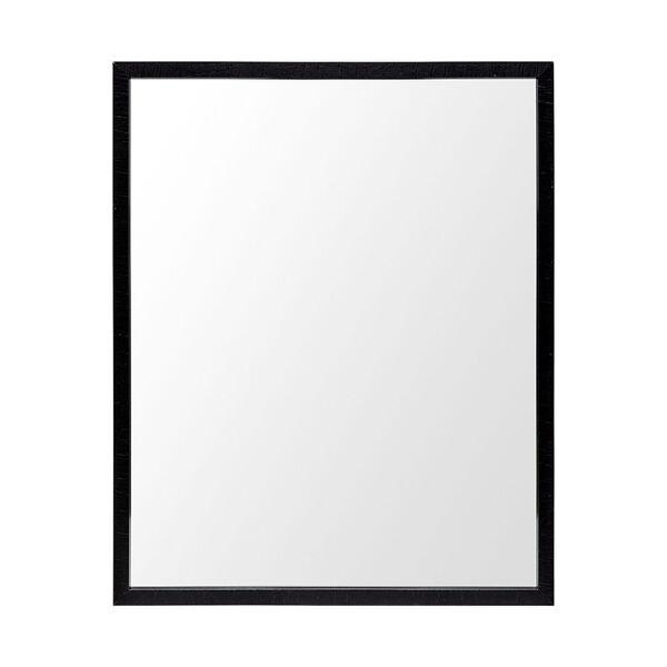 Black 32-Inch Wall Mirror, image 2