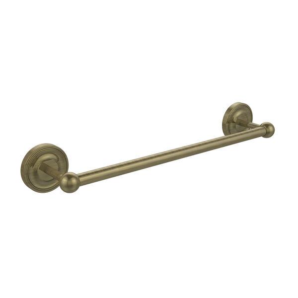 Antique Brass 18-Inch Towel Bar, image 1