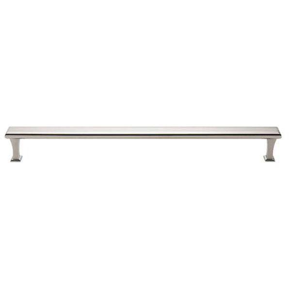Polished Nickel Brass 18-Inch Appliance Pull, image 1