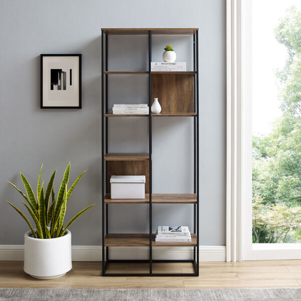 Bryant Reclaimed Barnwood Bookshelf, image 3