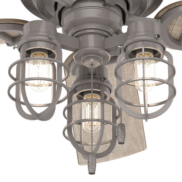 Starklake Quartz Grey 52-Inch Outdoor LED Ceiling Fan, image 3