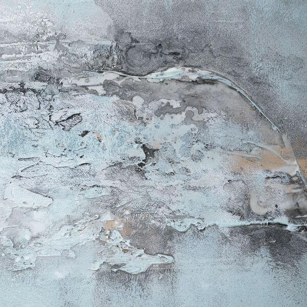 Ocean Swell Beige Painted Metal Art, Set of 3, image 5