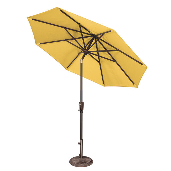 Catalina Forest Green 90-Inch  Market Umbrella, image 6