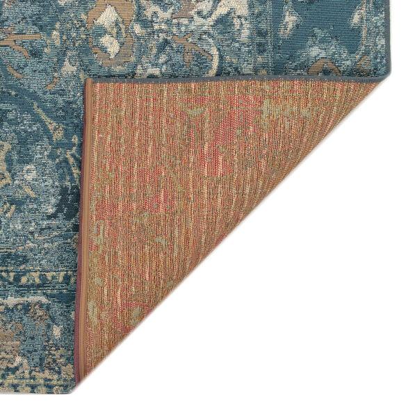 Liora Manne Marina Blue 39 x 59 Inches Kashan Indoor/Outdoor Rug, image 5