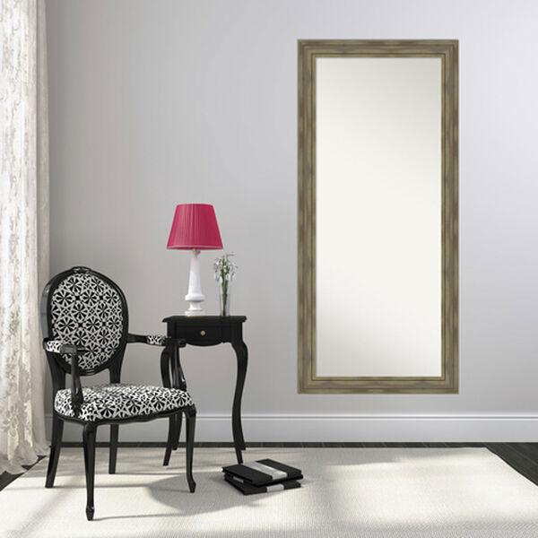 Alexandria Graywash 30-Inch Floor Mirror, image 4