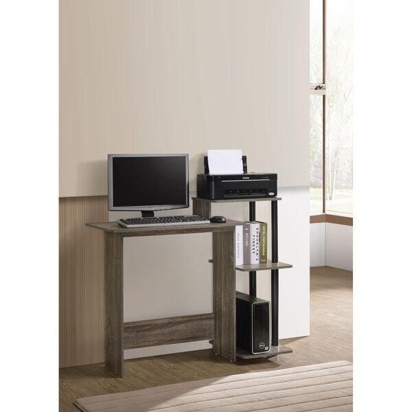 Phoenix Desert Gray Computer Desk, image 1
