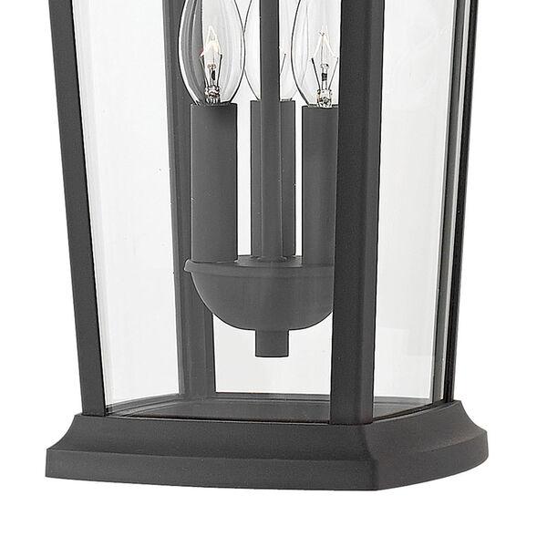 Bromley Museum Black 10-Inch Three-Light Outdoor Hanging Pendant, image 2