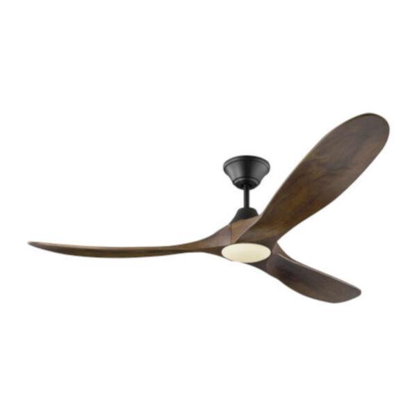Maverick Matte Black 60-Inch LED Ceiling Fan, image 1