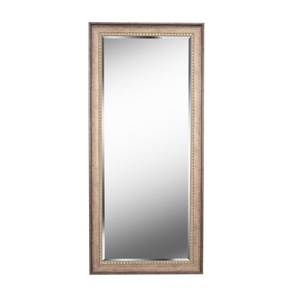 Amiens Antiqued Gold Full Length Mirror, image 2