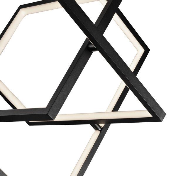 Graymar Black 11-Inch Three-Light LED Pendant, image 4