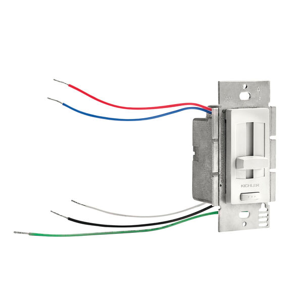 White 60W LED Driver and Dimmer Switch, image 1