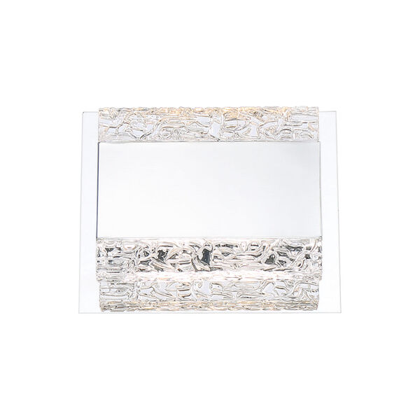 Nelson Chrome Two-Light LED Wall Sconce, image 1