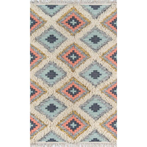 Indio Templin Multicolor Rectangular: 2 Ft. x 3 Ft. Rug, image 1