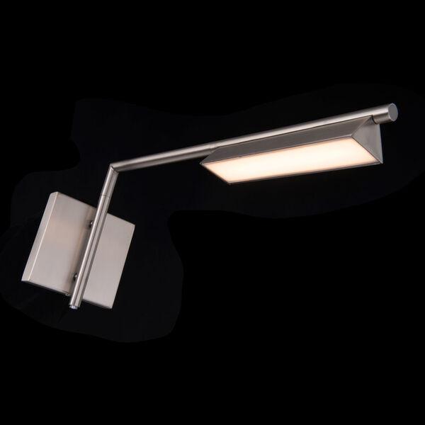 Eero Brushed Nickel LED Swing Arm Wall Light, image 4