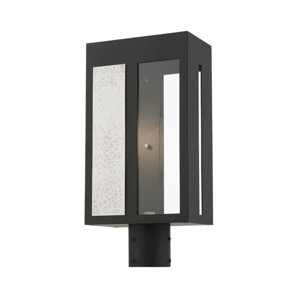 Lafayette Black One-Light Outdoor Post Lantern, image 4