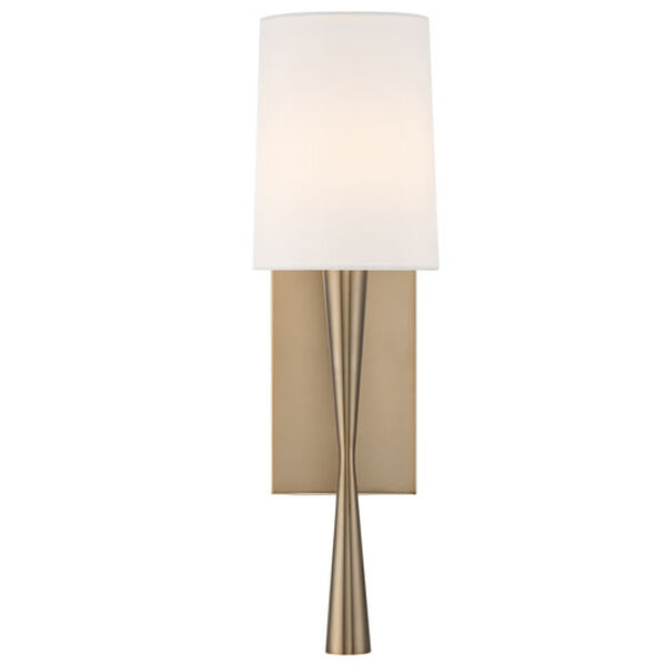 Hadley Antique Gold One-Light Wall Sconce, image 1