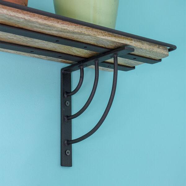 Vita Roman Bronze Powdercoat Windowsill Shelf Bracket, image 5