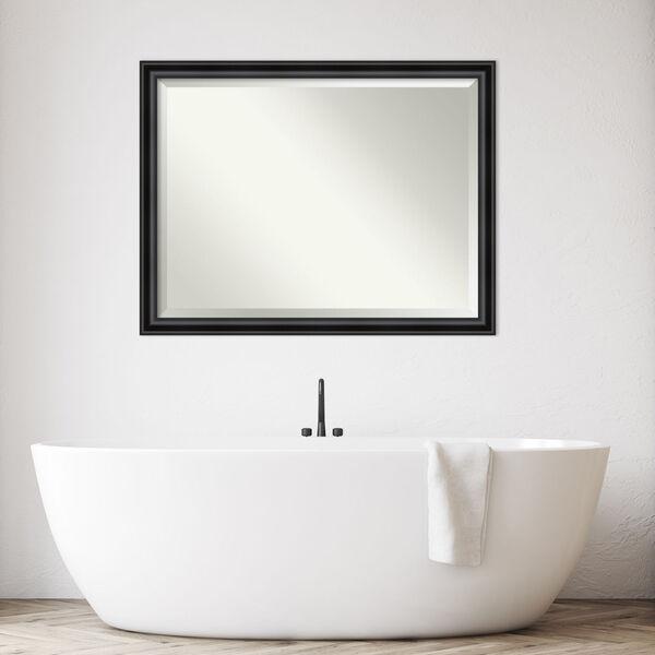 Black 44W X 34H-Inch Bathroom Vanity Wall Mirror, image 5