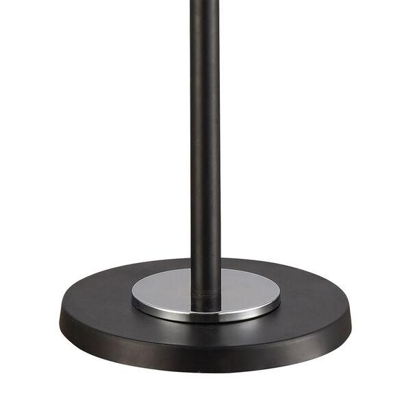 Uprising Black Chrome Three-Light Floor Lamp, image 4