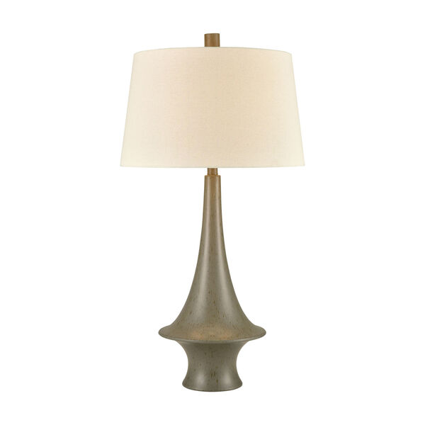 Winchell Gray Polished Concrete One-Light Table Lamp, image 1