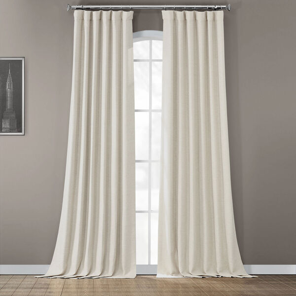 Bellino Cottage White 50 x 96-Inch Blackout Curtain, image 2
